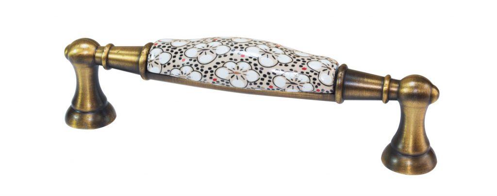 دستگیره کابینت گلدار